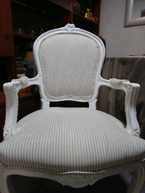 Yes availab 18/4 Exquisite Louis XV French style boudoir carver chair