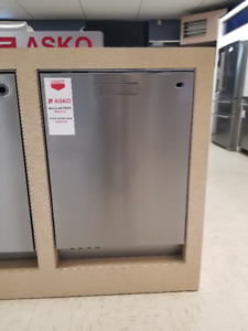 Stainless Steel Asko Dishwasher Floor Model