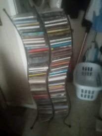Cd stand. With over 200 cds reduced