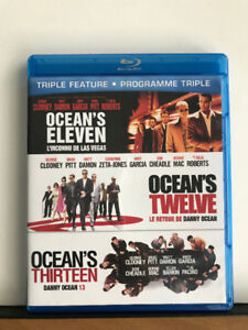 Ocean's Trilogy (BLU RAY COLLECTION)