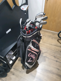 Golf clubs and kit