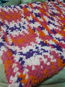 Brand new, hand made soft baby blankets
