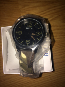 BREDA WATCH/ NEVER USED