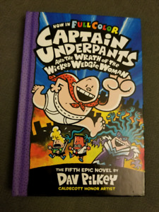 Captain Underpants Wrath of the Wicked Wedgie Woman (hardcover)
