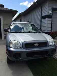 2004 Hyundai Santa Fe SUV, Crossover