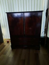 Telivision/fish tank cabinet
