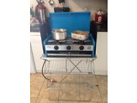 Gas hob and stand