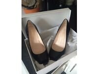 Russell and Bromley Parklane peep toe