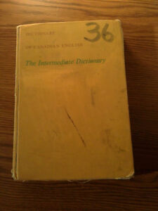 Vintage Gage Canadian English Dictionary Hardcover London Ontario image 1
