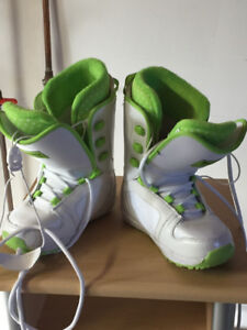 Nearly-new Kids' Snowboard Boots