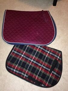 2 English saddle pads  Kawartha Lakes Peterborough Area image 3