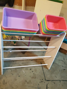 Multi-purpose bin organizer