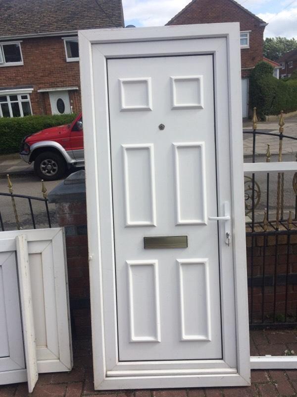 Upvc front door in middlesbrough north yorkshire gumtree for Reclaimed upvc doors