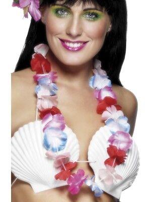 Cheap Hawaiian Garlands (Multi Coloured Hawaiian Lei - Cheap Garland - From UK Ladies Fancy)