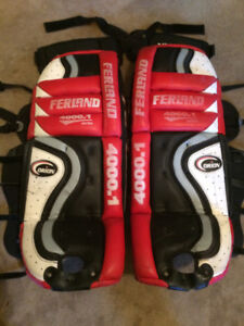 "Ferland 32"" 4000.1 Goalie Pads with Vaughn Thigh Guards"