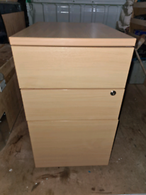 File fax filing cabinet computer pc unit drawer unit good.condition