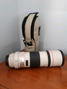 Canon 300mm 4-5.6f IS L lens