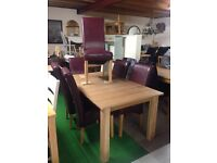 Solid dining room sets and chairs all reduced