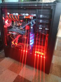 Watercooled Gaming Computer, i5-4690K, 250GB HDD, 16GB Ram
