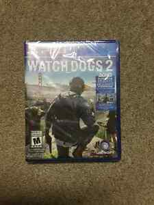 Watch dogs 2 Brand new sealed $55 or trade for the last guardian