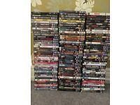 127 excellent condition DVDs
