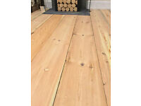 Reclaimed Pine Floor boards various sizes 6 to 11 Inch Wide