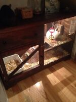 Custom made small animal cages