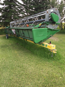 JD Header 30 foot 930 Rigid - with Bergen transport