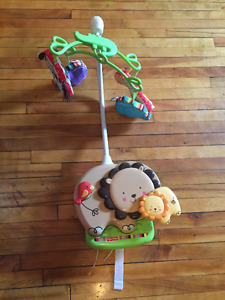 mobile musical pour basinette/ musical mobile for baby crib