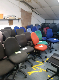 Office Desk Chairs. Office Swivel Chairs. Operators Office Chairs