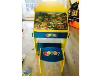 Noddy desk and stool