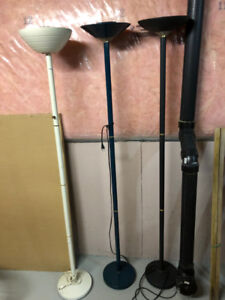 3 Floor Lamps for Sale