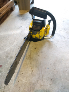 "Skil Saw 1621 gas powered chain saw 18"" bar"