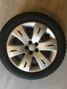 "Subaru OEM Winter tires and Rims 16"" 205/55r16"