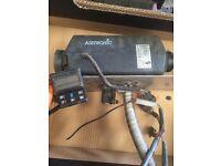 Eberspacher D2 night heater for camper van or caravan etc