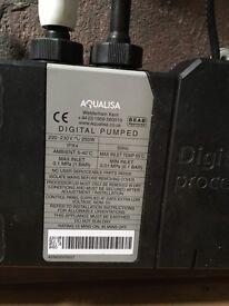 Aqualisa digital pumped shower