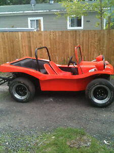 Dune Buggy 1960 plaquer route