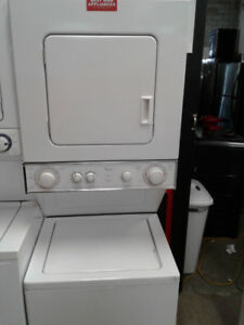 24'WASHER&DRYER STACKABLE WHIRLPOOL HEAVY DUTY