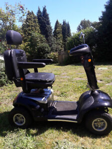 Shoprider Mobility Scooter. Model 888SL limited edition