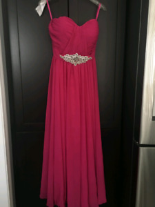 Pink Dress (prom, bridesmaid, banquet, party)