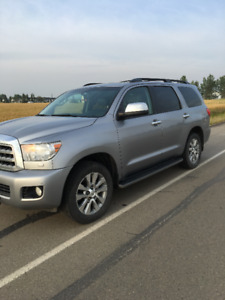 Lady Driven  2010 Toyota Sequoia  Limited