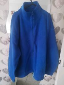 New lady's fleece zip up jacket size 22/24