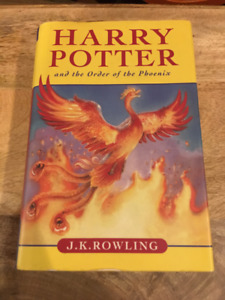 Harry Potter and the Order of the Phoenix (First Canadian Edtn)