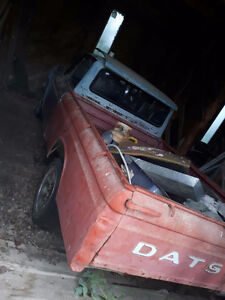 needed clean bc reg. and tags datsun truck