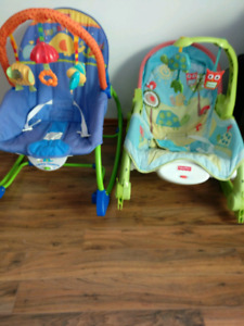 Infant to Toddler Baby relaxing chairs