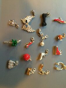Sterling silver charms - all brand new!
