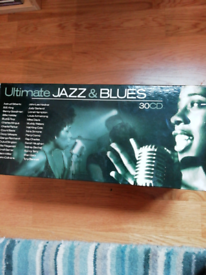 Ultimate jazz and blues box set. Nr mint
