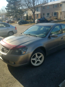 05 nissan altima 3.5L winter and all season tires
