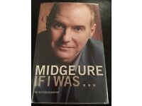 """""""If I Was"""" Midge Ure's autobiography. Signed copy!"""