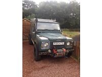 Land Rover defender 110 300tdi project